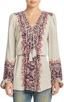 Free People Wildest Moment Printed Tunic - Lyst
