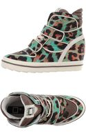Date High-tops  Trainers - Lyst