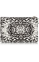 Newbark Leopardprint Calf Hair Clutch - Lyst