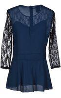 Dress Gallery Blouse - Lyst