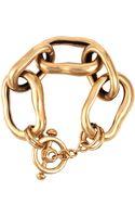 Oscar de la Renta Link Bracelet - Lyst