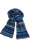 Paul Smith Classic Striped Mens Scarf - Lyst