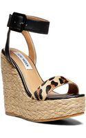 Steve Madden Hamptin Wedge Sandals - Lyst