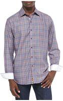 Robert Graham Stillwater Multiplaid Sport Shirt - Lyst