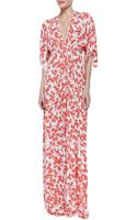 Rachel Pally Printjersey Maxi Caftan Dress - Lyst
