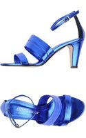 Enrico Lugani Highheeled Sandals - Lyst