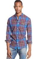 Tommy Hilfiger Tommy Tartan Custom-fit Shirt - Lyst
