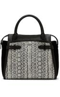 Vince Camuto Robyn Leather Satchel - Lyst