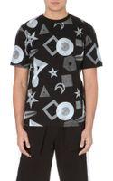 Black Scale Paradox Cotton-jersey T-shirt - Lyst