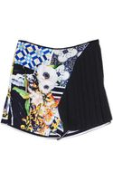 Clover Canyon Greek Tiles Shorts - Lyst