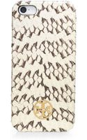 Tory Burch Snakeskin Hardshell Case For Iphone 5 - Lyst