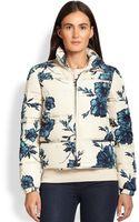 Tory Burch Ronda Floral Puffer Jacket - Lyst