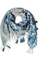 High Square Scarf - Lyst