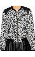 Glamorous Bomber Jacket in Leopard Print - Lyst