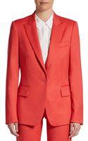Stella McCartney Classic Wool Jacket - Lyst