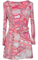 Emilio Pucci Short Dress - Lyst