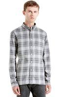Todd Snyder Plaid Pattern Sport Shirt - Lyst
