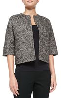 Michael Kors Herringbone Reversible Jacket - Lyst