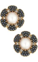 Kate Spade Park Floral Stud Earrings - Lyst