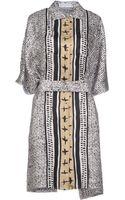 JC de Castelbajac Short Dress - Lyst