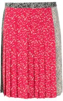 Marc By Marc Jacobs Pleated Skirt - Lyst