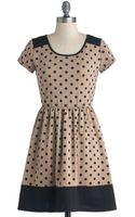 Yellow Star Coffee and Ice Cream Dress - Lyst