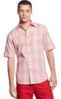 Sean John Gradient Check Shirt - Lyst