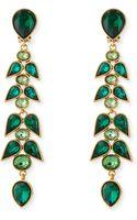 Oscar de la Renta Wisteria Crystal Drop Earrings - Lyst