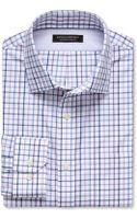 Banana Republic Classic Fit Non Iron Plaid Shirt  Violet Blossom - Lyst
