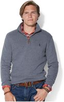 Polo Ralph Lauren French-rib Half-zip Pullover Sweater - Lyst