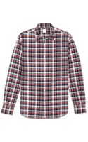 Aspesi Plaid Shirt - Lyst