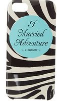Kate Spade I Married Adventure Phone Case For Iphone 5 - Lyst