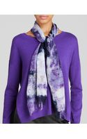 Eileen Fisher Exclusive Printed Scarf - Lyst