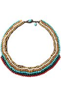 Nakamol Multicolor Beaded Necklace - Lyst