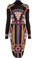 Temperley London Fitted Portillo Jacquard Dress - Lyst