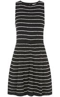 Alice + Olivia Mohan Striped Knit Dress - Lyst