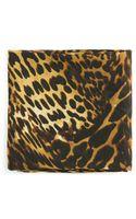 Mango Leopard Chiffon Scarf - Lyst