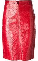 Gucci Vintage Straight Skirt - Lyst