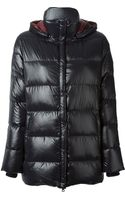 Duvetica Detachable Hood Jacket - Lyst