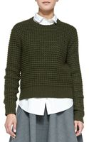 Marc By Marc Jacobs Walley Knit Crewneck Sweater - Lyst