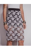 Free People Everything Rosey Pencil Skirt - Lyst