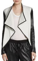 Sachin & Babi Leather-sleeve Jacket - Lyst