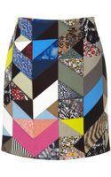 Preen Quilt Print Dixon Skirt - Lyst