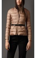 Burberry Belted Puffer Jacket - Lyst