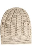 Madeleine Thompson Maddy Cable-knit Cashmere Beanie - Lyst