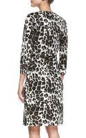 Diane Von Furstenberg New Julian Two Snow Leopardprint Wrap Dress - Lyst