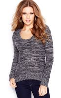 Guess Long-sleeve Colorblocked Angora-blend Sweater - Lyst