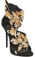 Giuseppe Zanotti 120mm Embellished Suede Sandals - Lyst