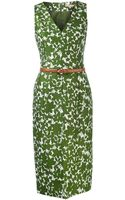 Michael Kors Floral Sheath Dress - Lyst