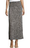 Max Studio Foldedband Knit Maxi Skirt - Lyst